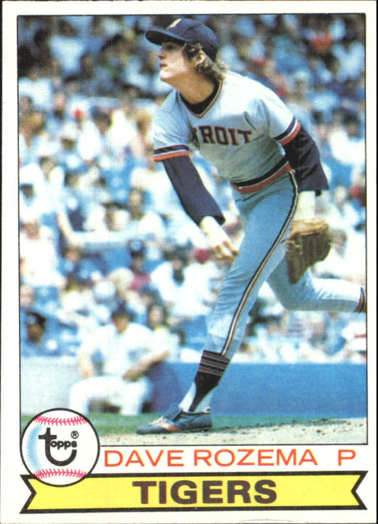 1979 Topps #33 Dave Rozema