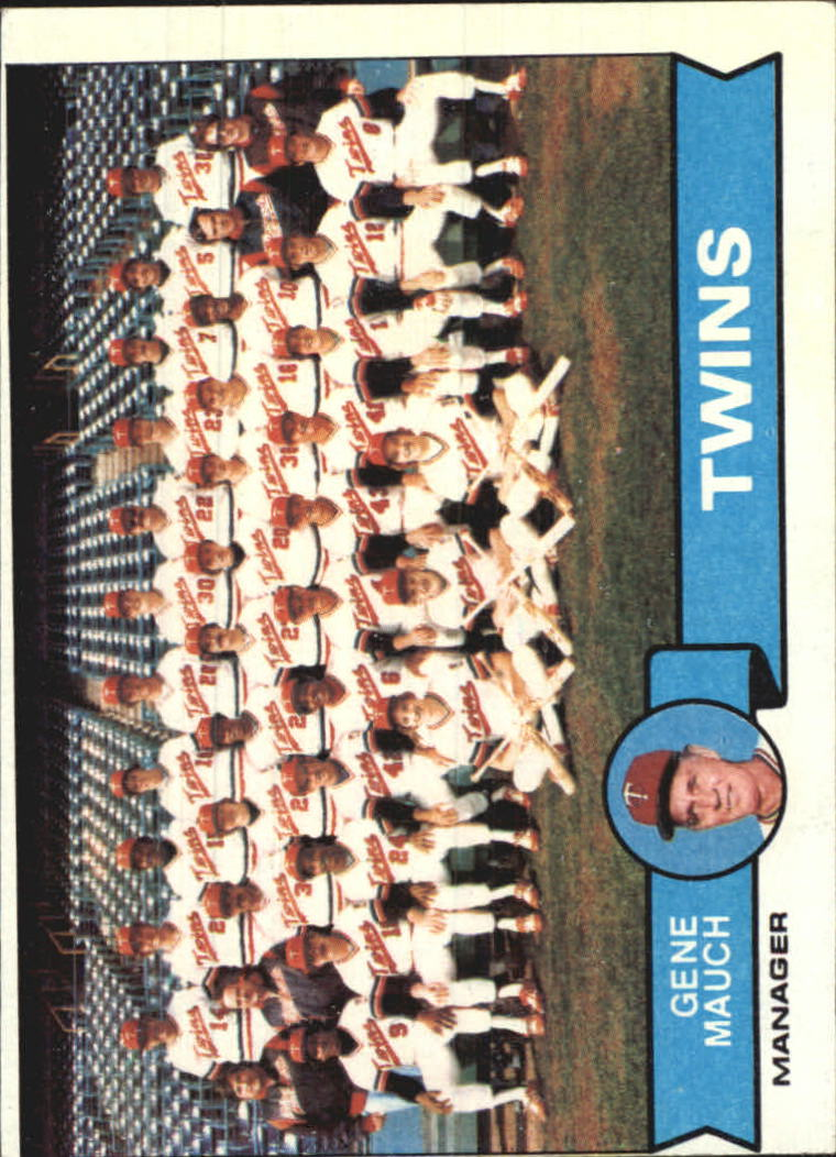 1979 Topps #41 Minnesota Twins CL/Gene Mauch MG