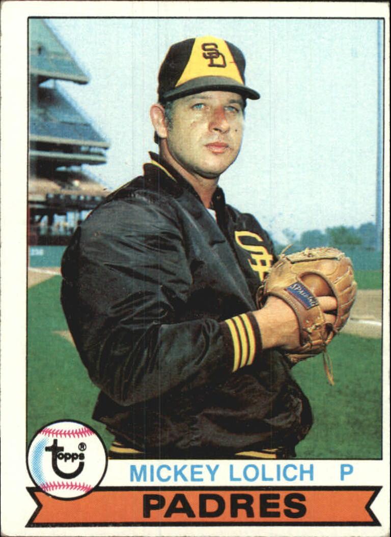 1979 Topps #164 Mickey Lolich