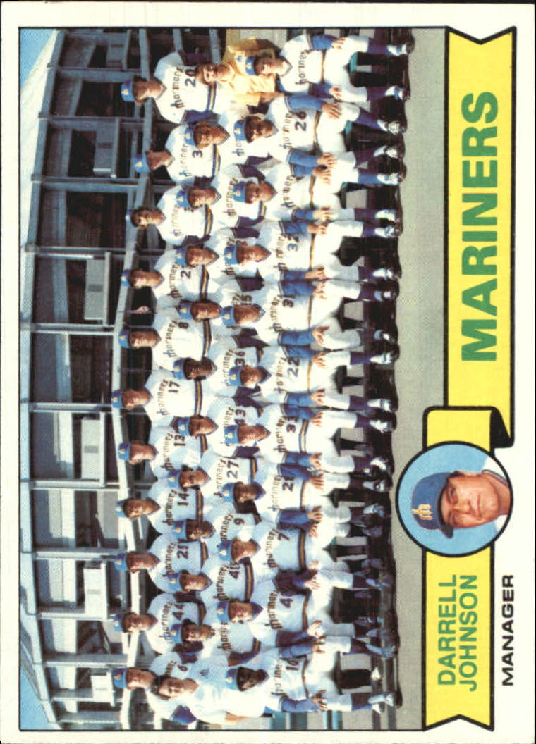 1979 Topps #659 Seattle Mariners CL/Darrell Johnson MG