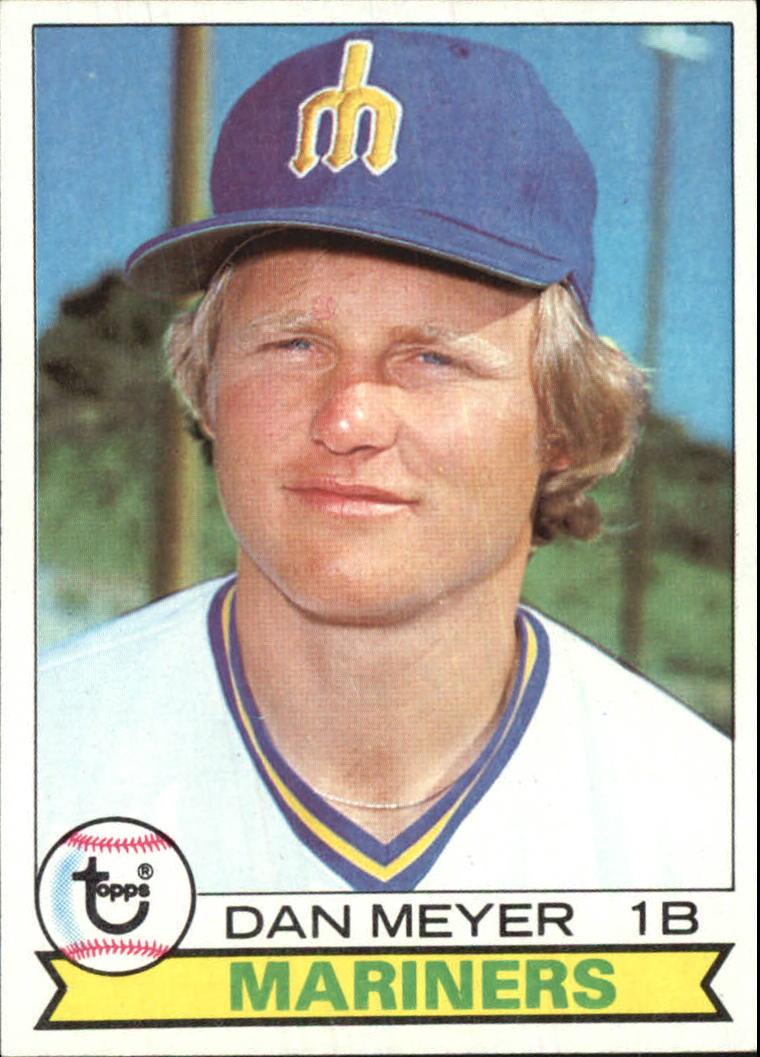 1979 Topps #683 Dan Meyer DP