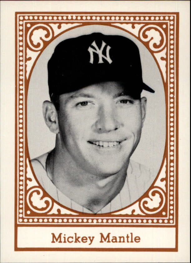 1980 Yankees Greats TCMA #6 Mickey Mantle