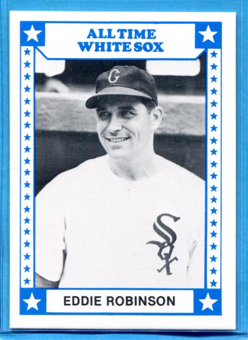 1980 White Sox Greats TCMA #12 Eddie Robinson