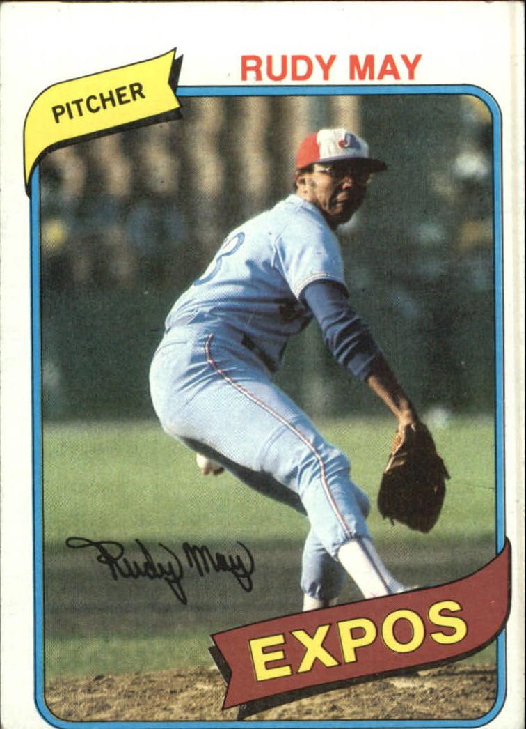 1980 Topps #539 Rudy May