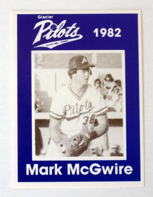 1982 Anchorage Glacier Pilots McGwire #1 Mark McGwire
