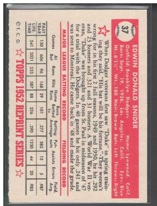 1983-Topps-1952-Reprint-BB-Card-039-s-1-250-You-Pick-Buy-10-cards-FREE-SHIP thumbnail 55