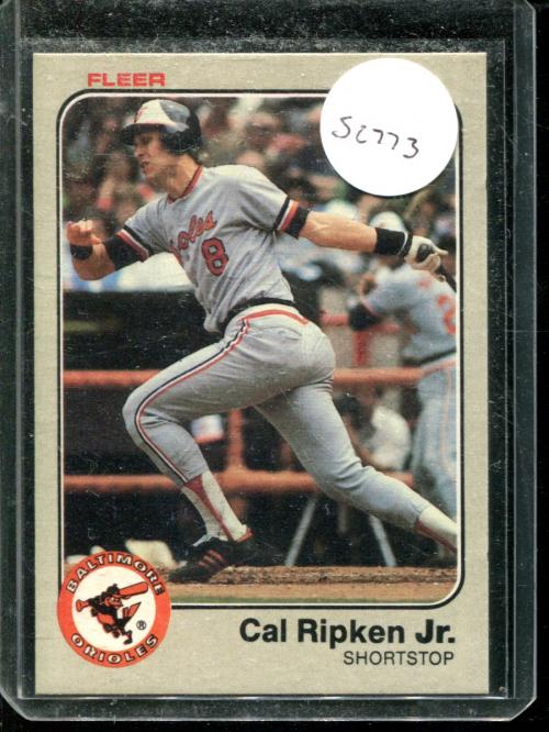 1983 Fleer #70 Cal Ripken