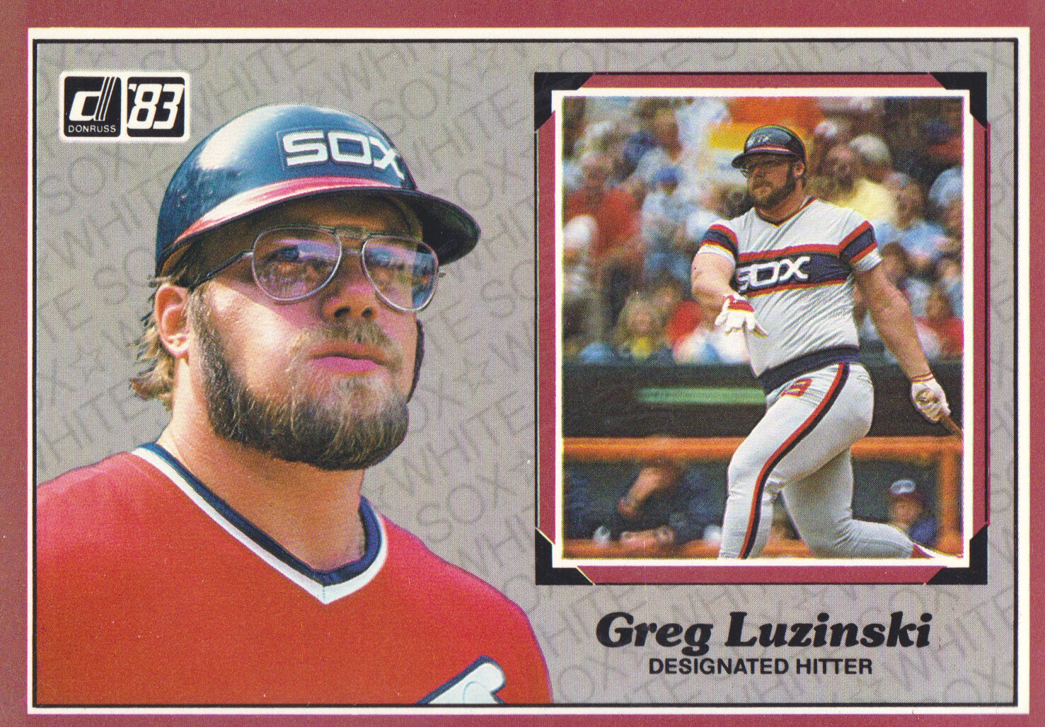 1983 Donruss Action All-Stars #4 Greg Luzinski