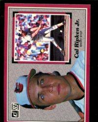 1983 Donruss Action All-Stars #52 Cal Ripken