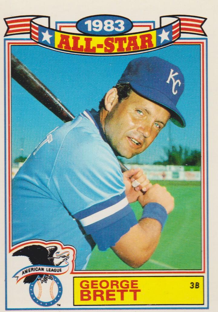 1984 Topps Glossy All-Stars #4 George Brett