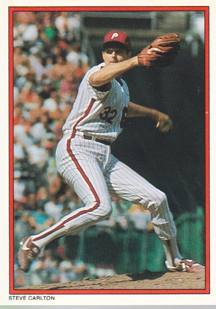 1984 Topps Glossy Send-Ins #27 Steve Carlton