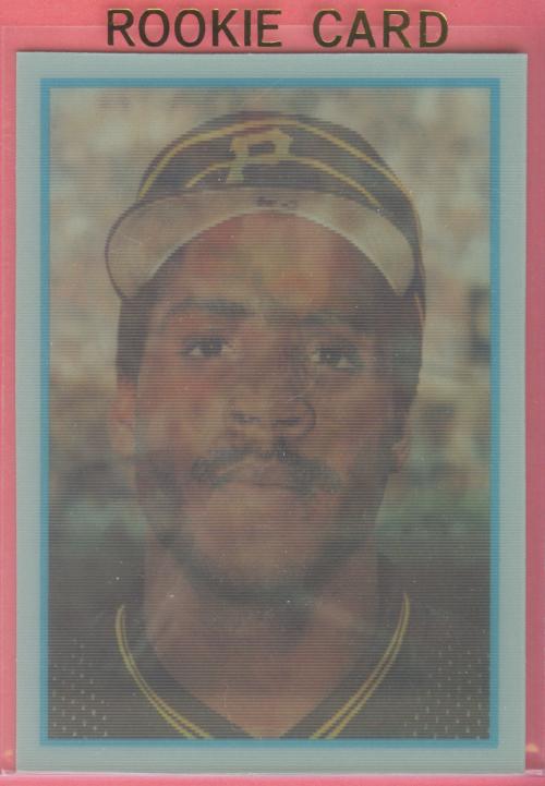1986 Sportflics Rookies #13 Barry Bonds