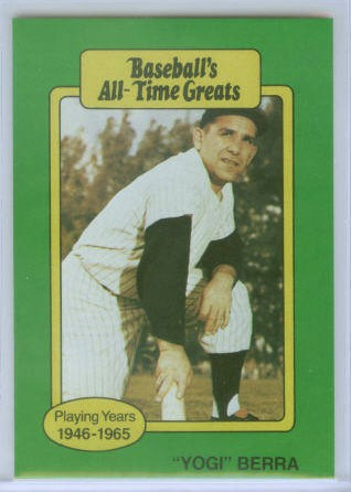1987 Hygrade All-Time Greats #11 Yogi Berra