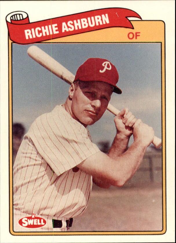 1989 Swell Baseball Greats #85 Richie Ashburn
