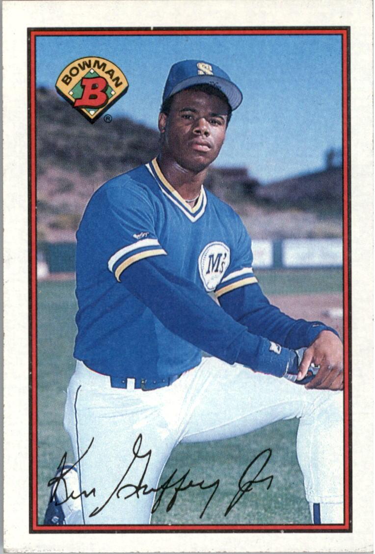 0313994e29 1989 Bowman #220 Ken Griffey Jr. RC