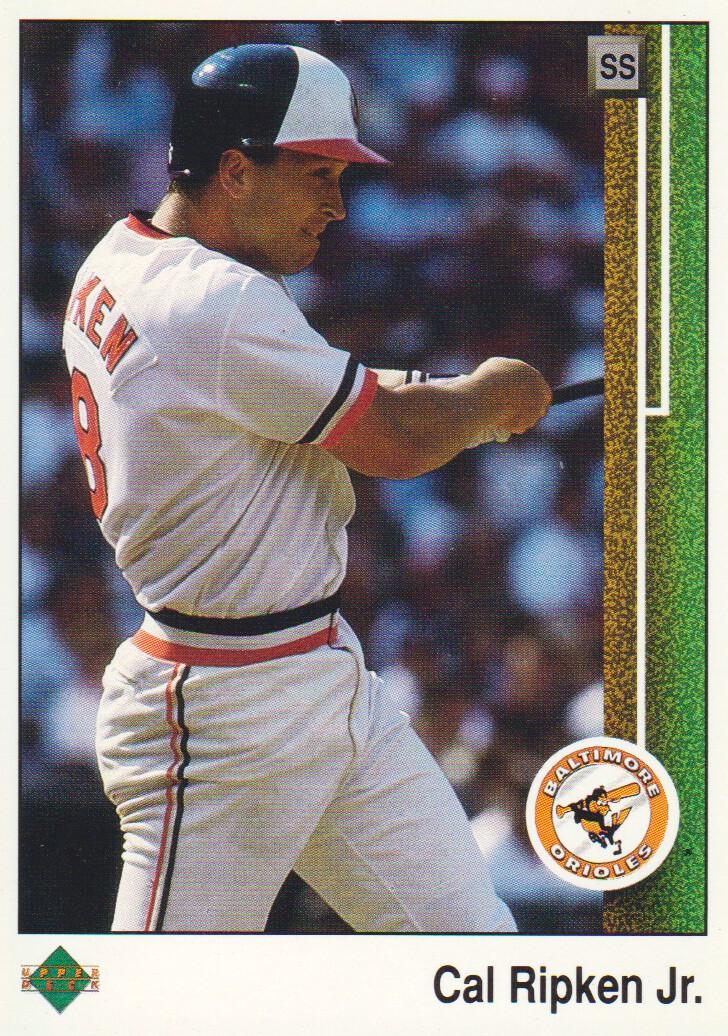 1989 Upper Deck #467 Cal Ripken