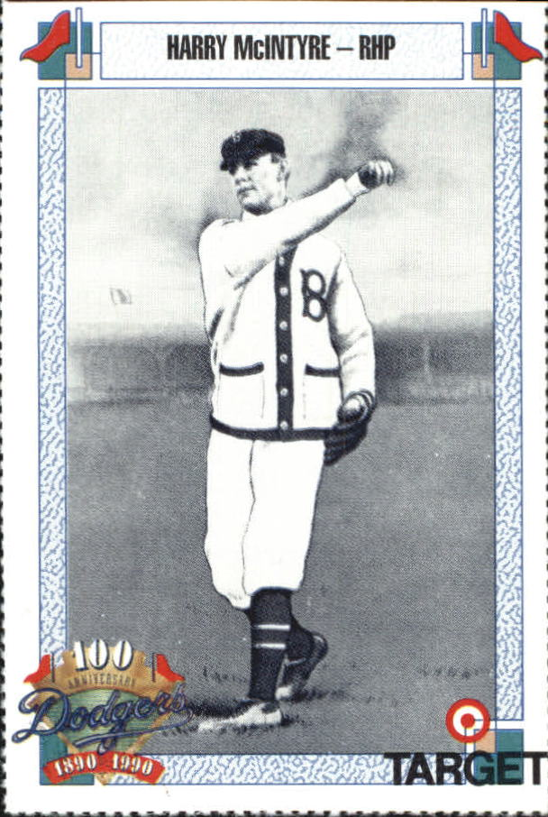 1990 Dodgers Target #510 Harry McIntire