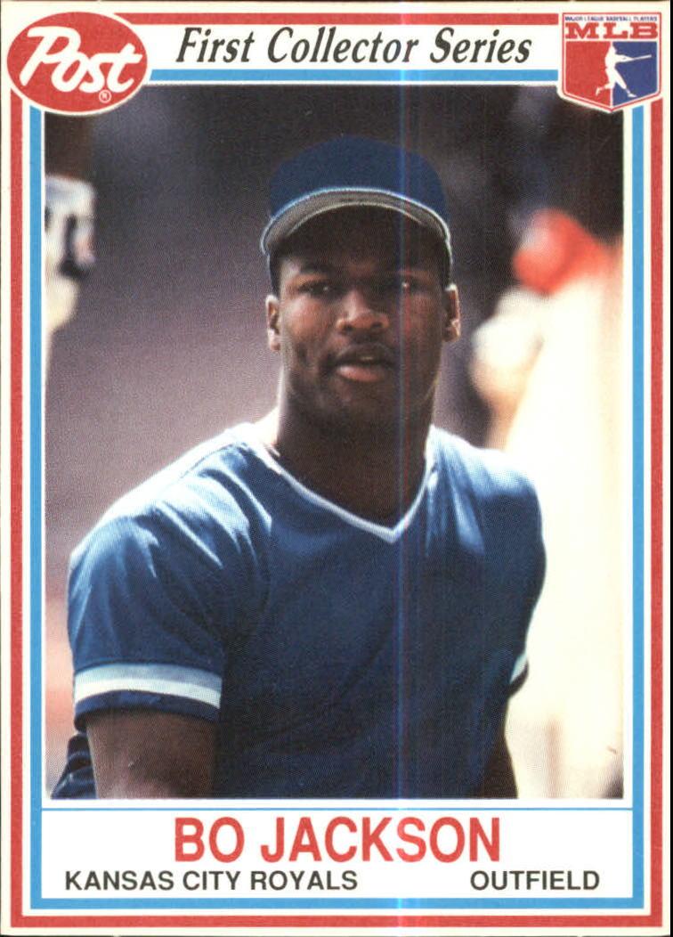 Details About 1990 Post Baseball Card 14 Bo Jackson Royals