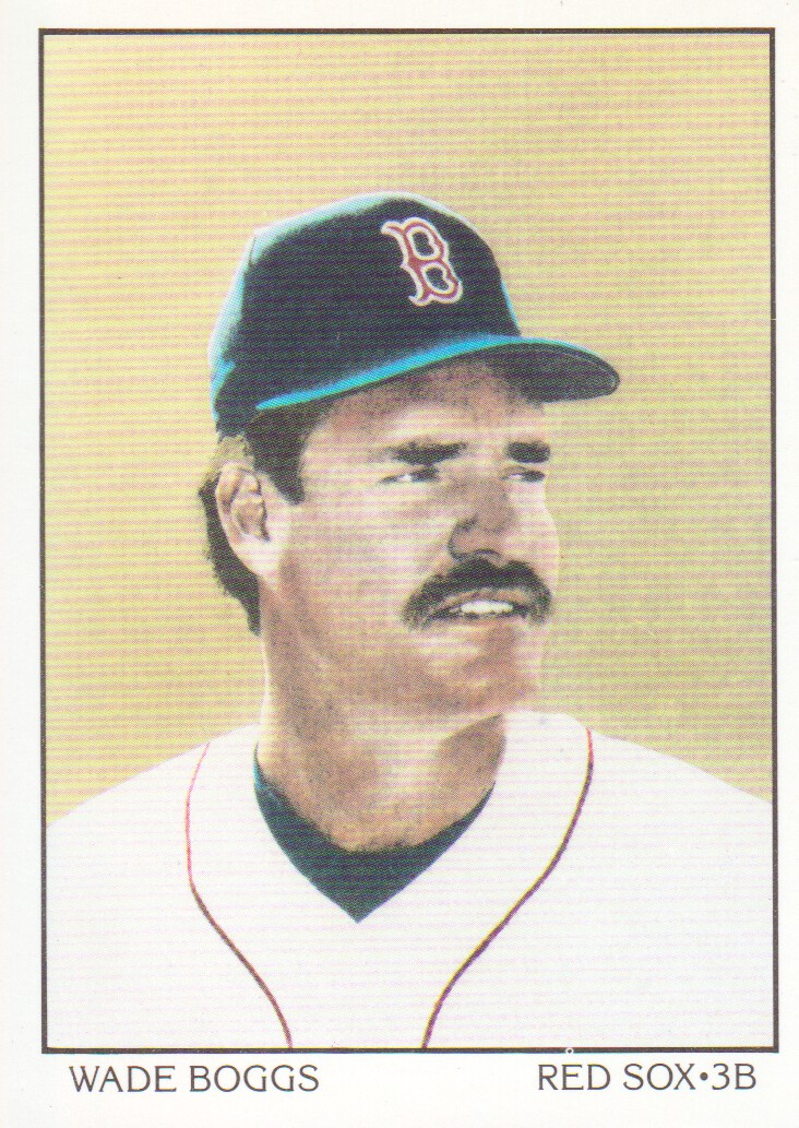 1990 Score #683B Wade Boggs DT COR/Text says 205 hits in '89