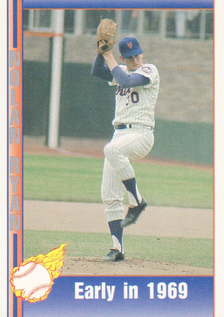 1991 Pacific Ryan Texas Express I 8 Nolan Ryanearly In