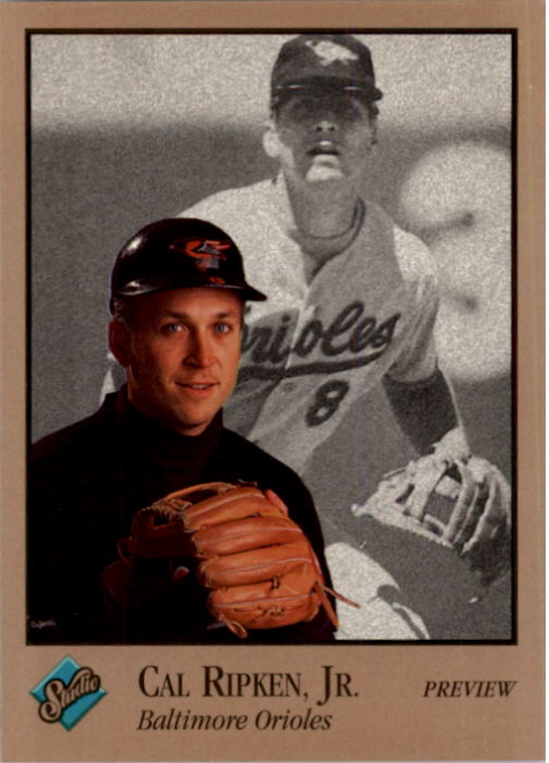 1992 Studio Previews #5 Cal Ripken