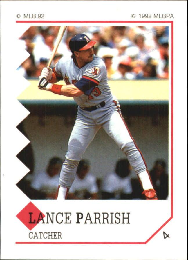 1992 Panini Stickers #4 Lance Parrish