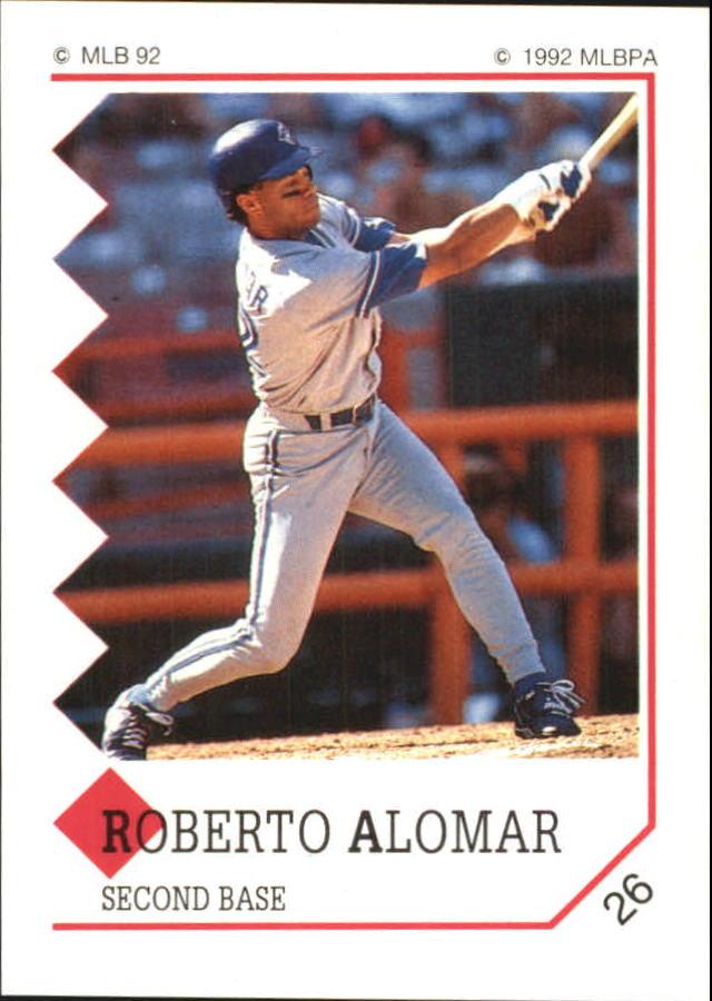 1992 Panini Stickers #26 Roberto Alomar
