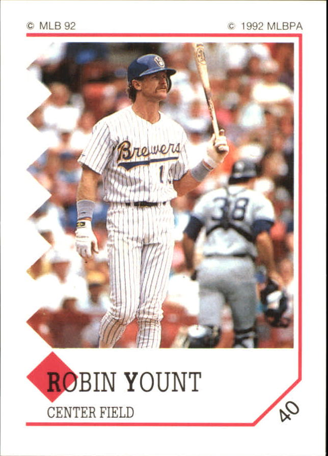 1992 Panini Stickers #40 Robin Yount