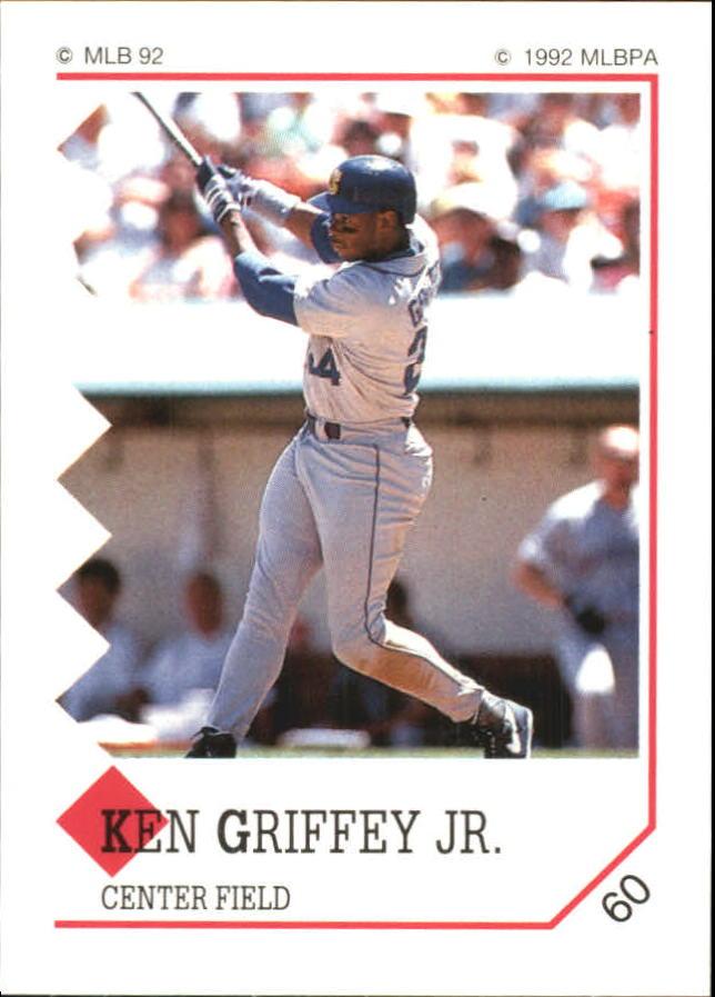 1992 Panini Stickers #60 Ken Griffey Jr.