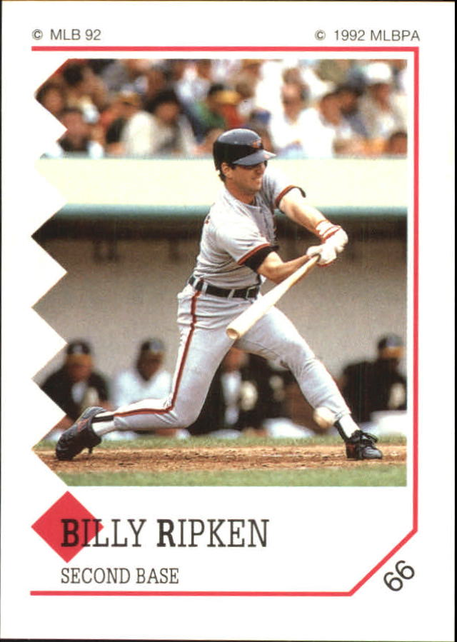 1992 Panini Stickers #66 Bill Ripken