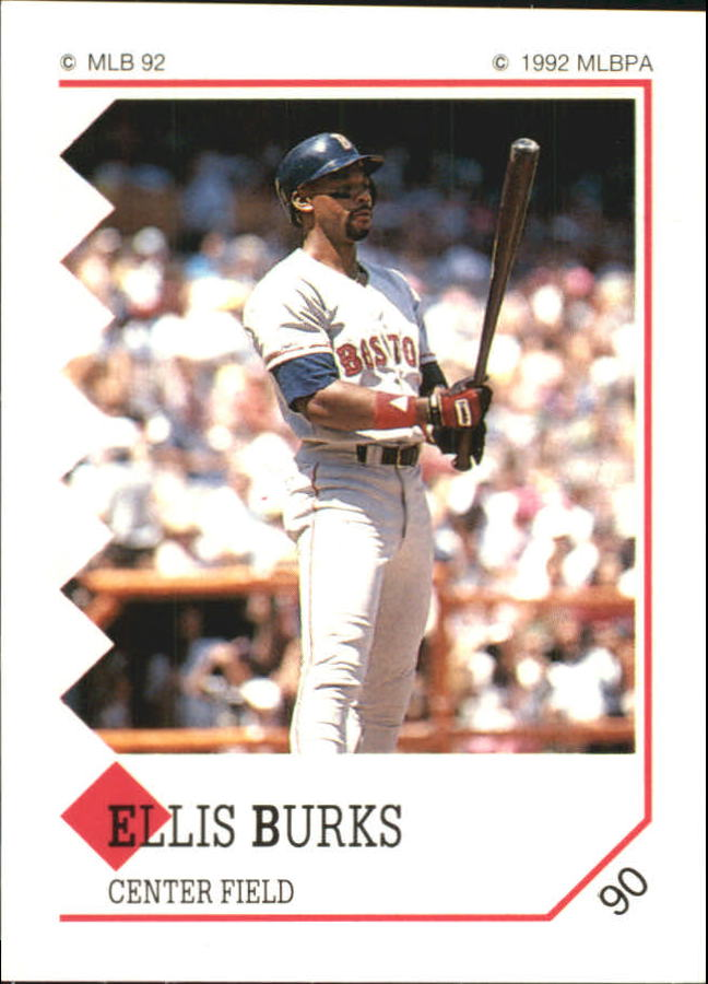 1992 Panini Stickers #90 Ellis Burks