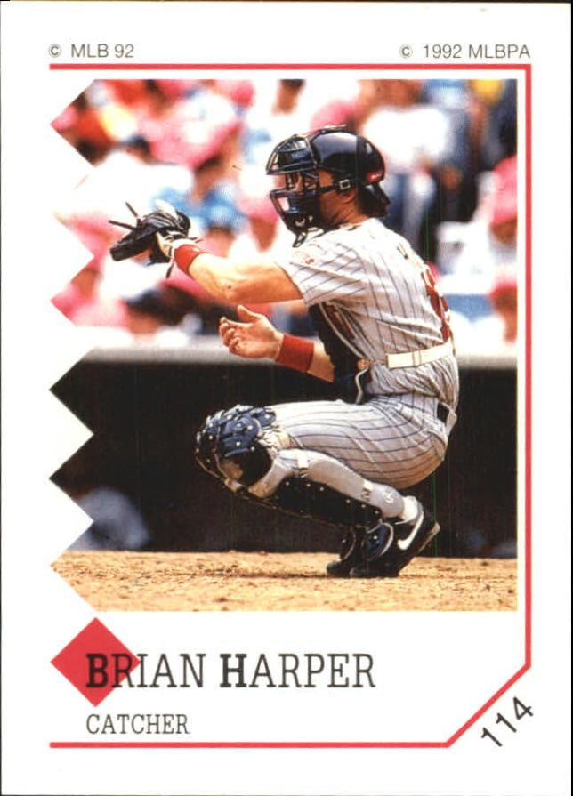 1992 Panini Stickers #114 Brian Harper