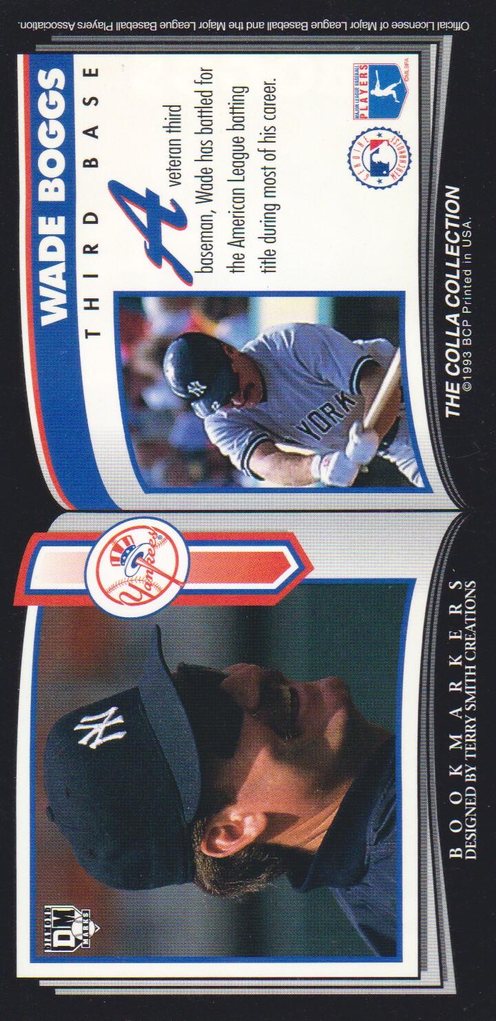 1993 Diamond Marks #13 Wade Boggs back image