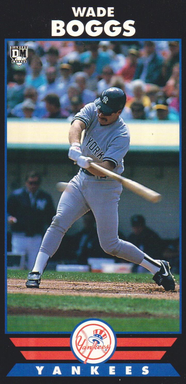 1993 Diamond Marks #13 Wade Boggs