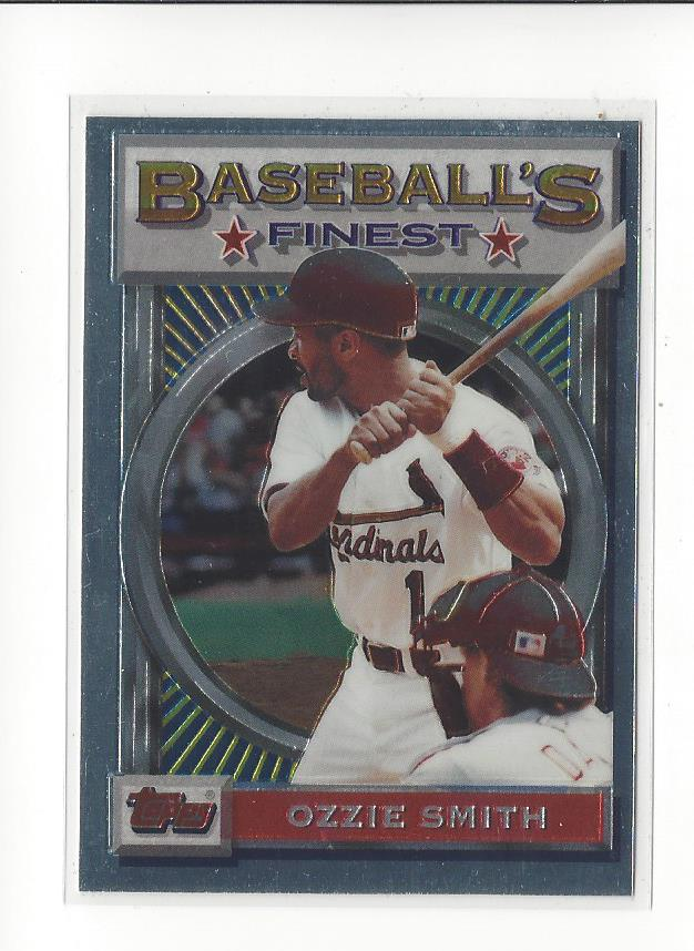 1993 Finest #28 Ozzie Smith