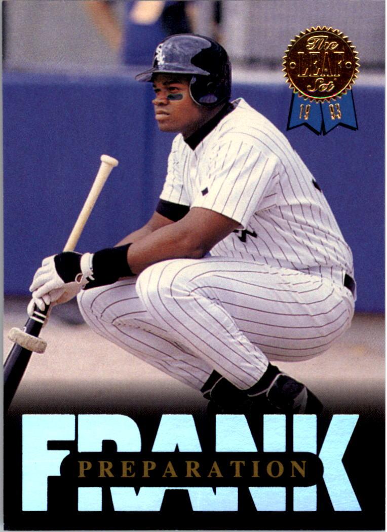 1993 Leaf Thomas #10 Frank Thomas/Preparation
