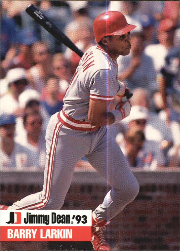 1993 Jimmy Dean #2 Barry Larkin