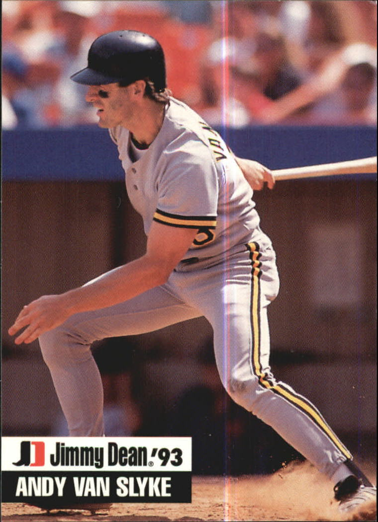 1993 Jimmy Dean #4 Andy Van Slyke