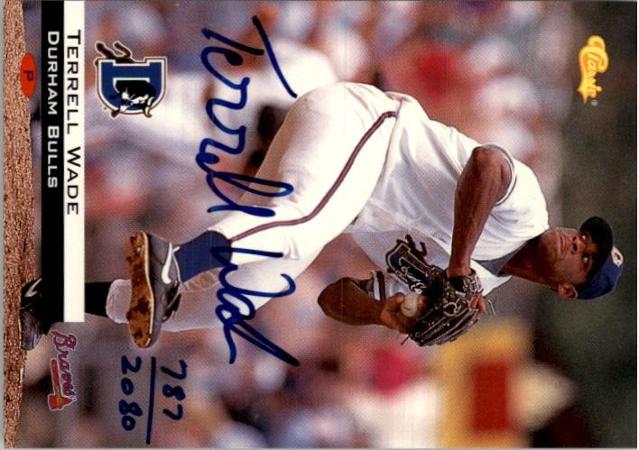 1994 Classic Autographs #AU2 Terrell Wade/2080