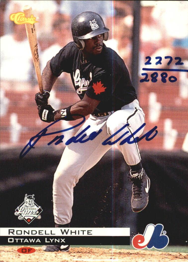 1994 Classic Autographs #AU4 Rondell White/2880