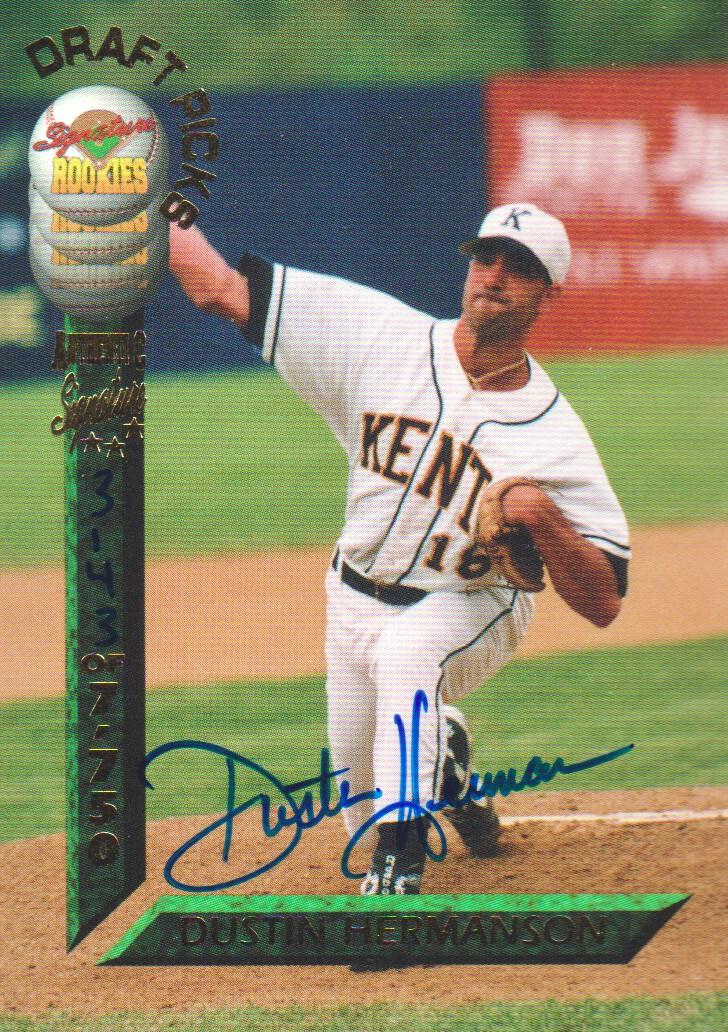 1994 Signature Rookies Draft Picks Signatures #4 Dustin Hermanson