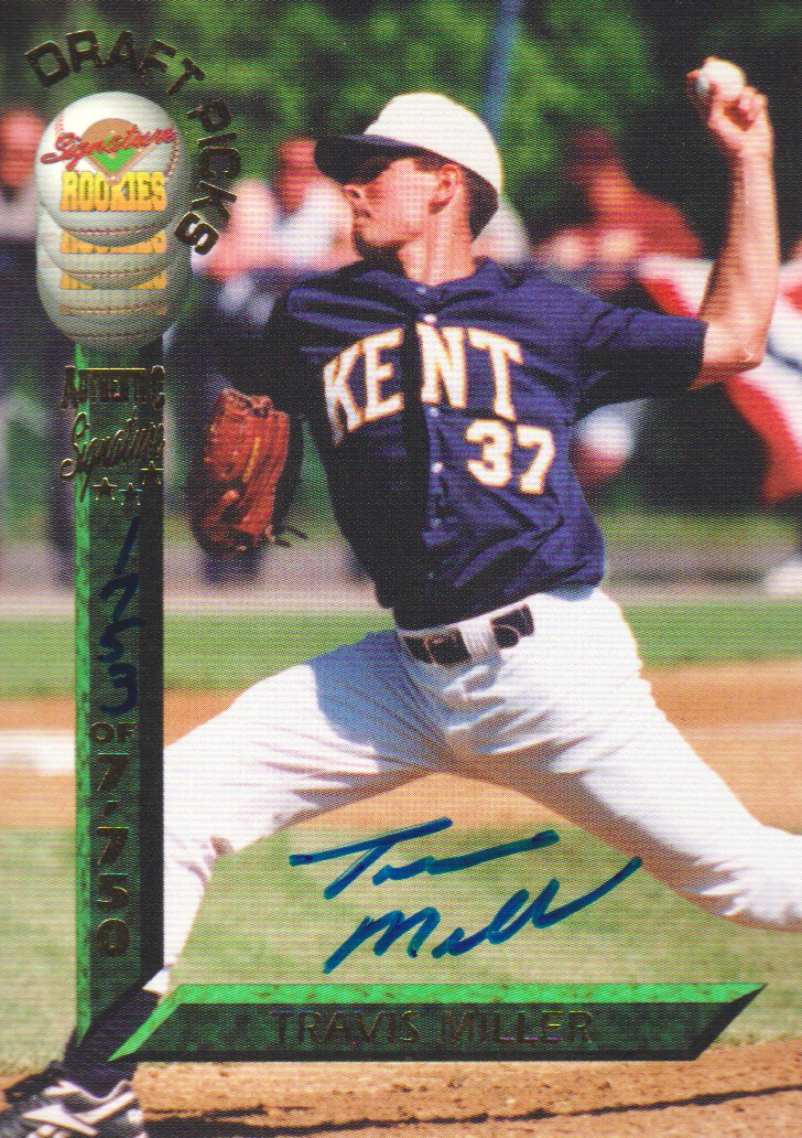 1994 Signature Rookies Draft Picks Signatures #32 Travis Miller