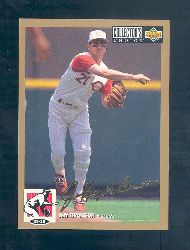 1994 Collector's Choice Gold Signature #64 Jeff Branson