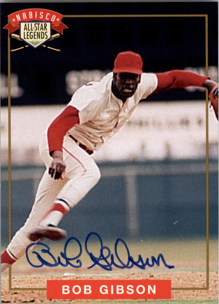 1994 Nabisco All-Star Autographs #1 Bob Gibson
