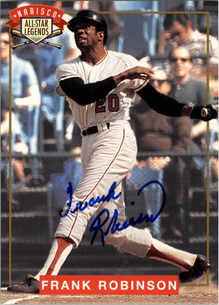 1994 Nabisco All-Star Autographs #3 Frank Robinson