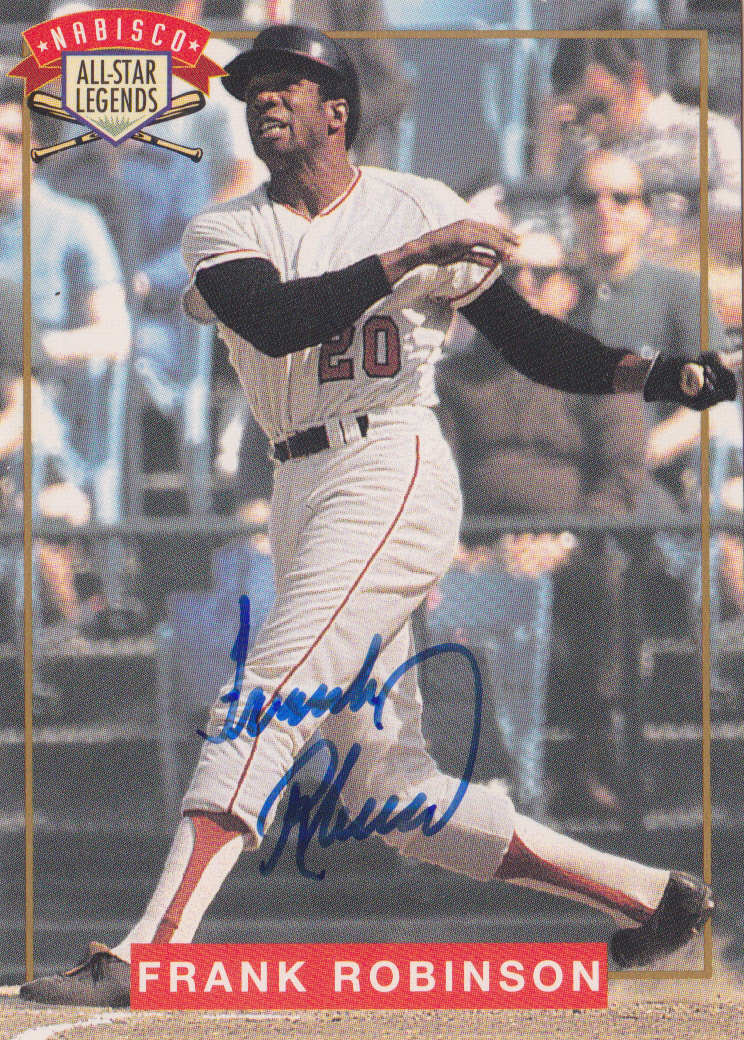 1994 Nabisco All-Star Autographs #3 Frank Robinson