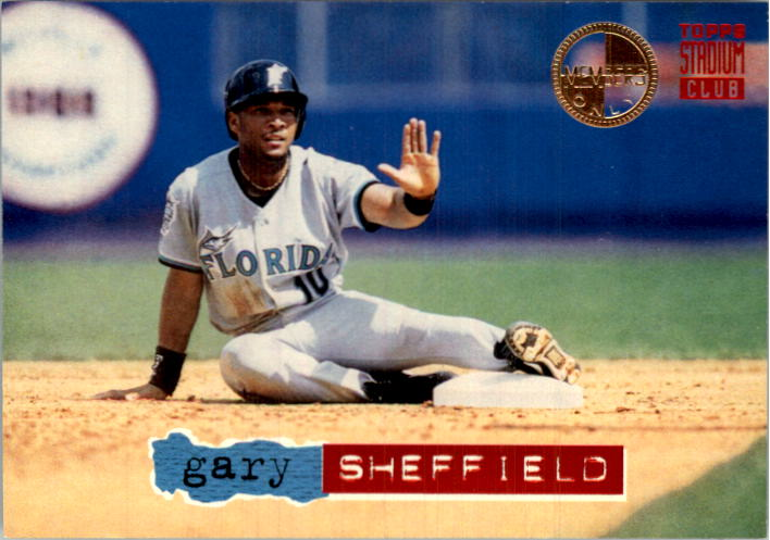 Silver Series Gary Sheffield Baseball Set #/'d//2,000 1988 Star Co