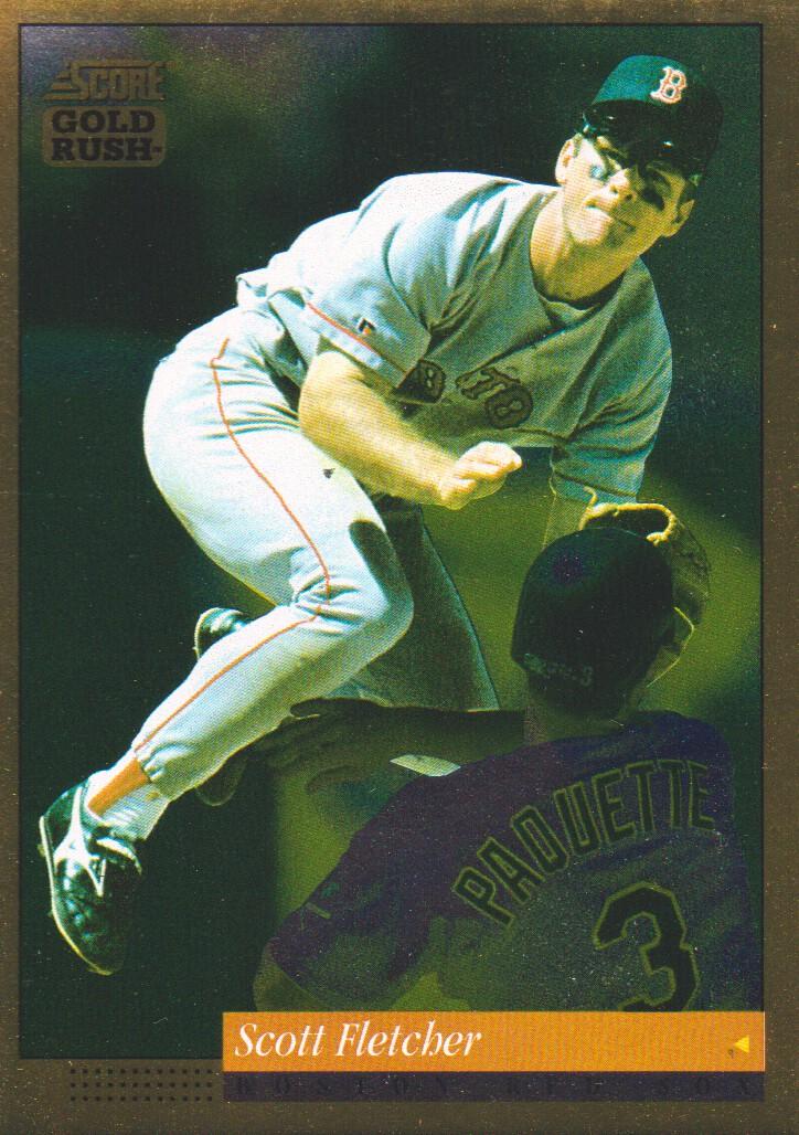 1994 Score Gold Rush #367 Scott Fletcher