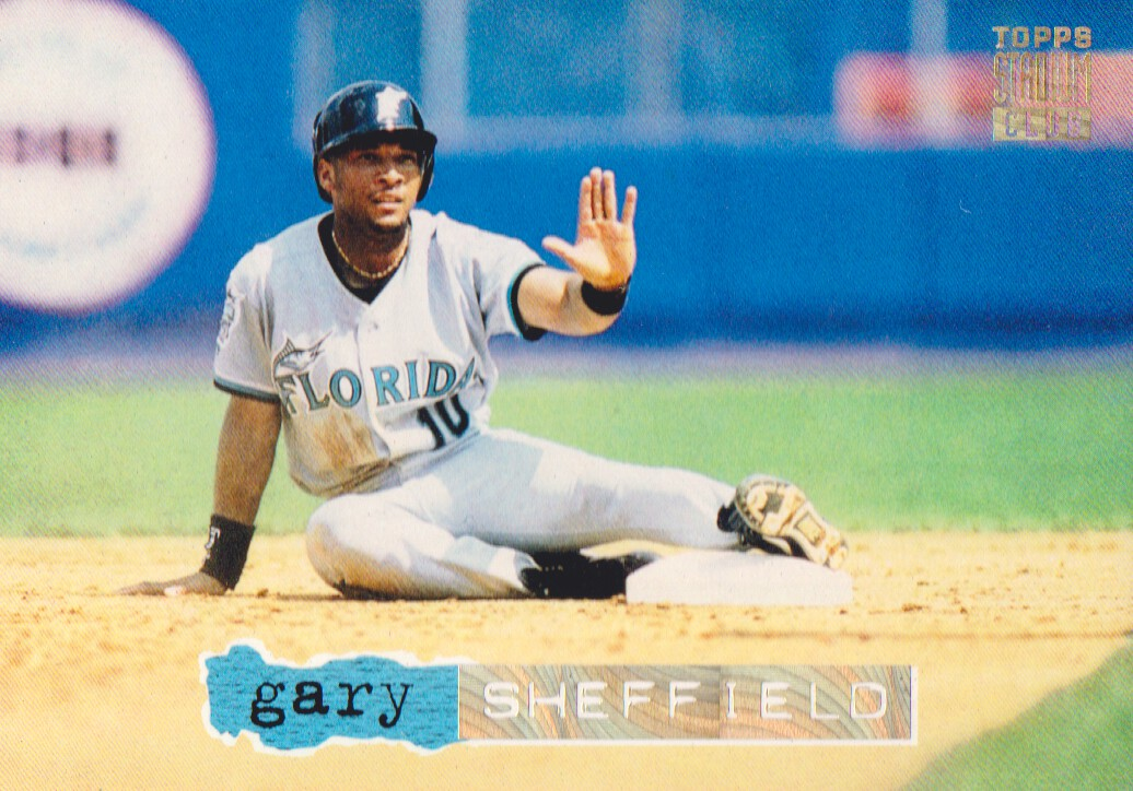1994 Stadium Club Golden Rainbow #4 Gary Sheffield