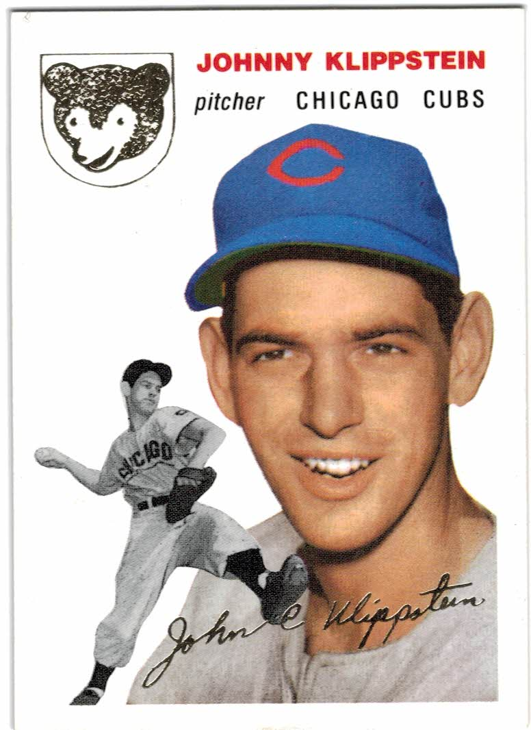1994 Topps Archives 1954 Gold #31 Johnny Klippstein